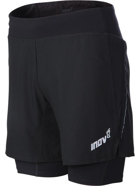 "inov-8 Trail 7"" Hardloop Shorts Heren zwart"